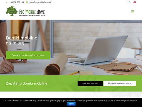 Eco Mobile Home sp. z o.o. domki holenderskie