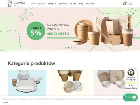Ecoway.supply opakowania biodegradowalne