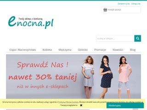 Enocna.pl bielizna damska i męska