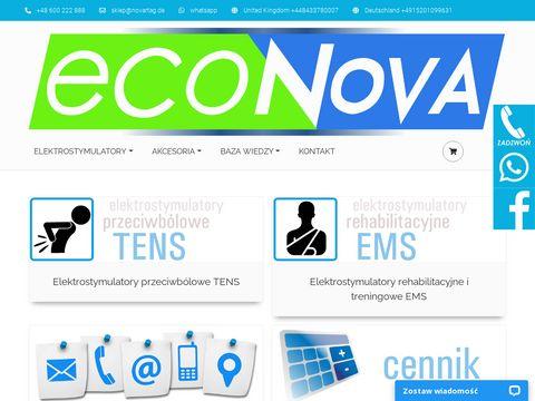 Econova akcesoria do elektrostymulacji