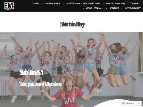 Emstudiotanca.pl szkoła tańca