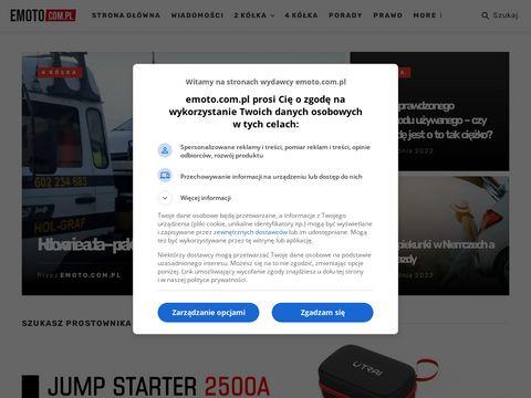 Emoto.com.pl portal dla fanów motoryzacji