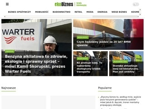 Proekologiczne działania - ekobiznes.pl