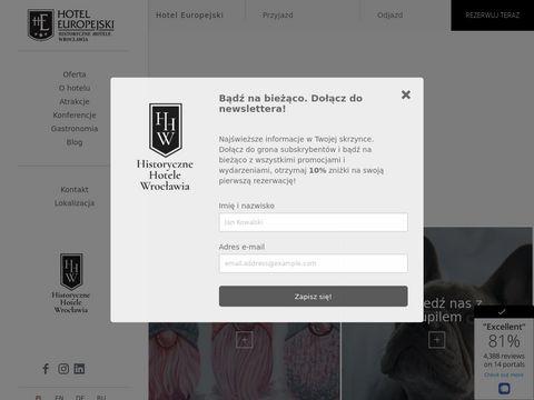 Europejskiwroclaw.pl hotel
