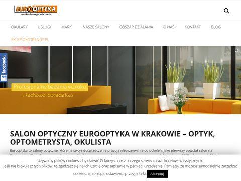 Eurooptyka.pl odwiedź optyka w Krakowie