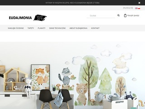 Eudajmonia.eu naklejki na ścianę oraz fototapety