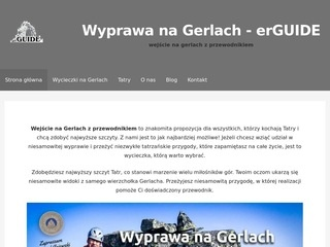 Erguide.pl - Gerlach z przewodnikiem