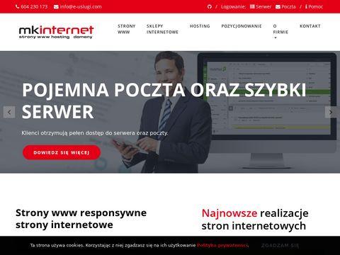 E-uslugi.com tworzenie sklepów internetowych