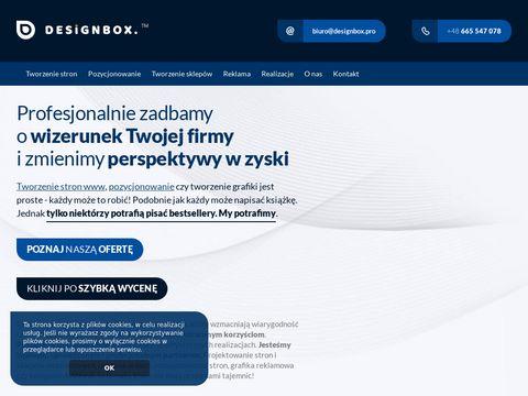 Designbox.pro projektowanie stron www Konin