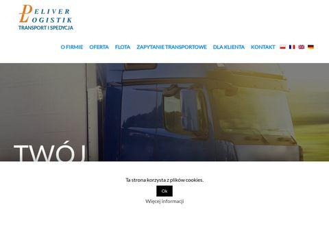 Deliverlogistik.pl transport komu zlecić
