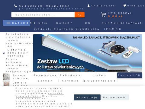 Decorsystem.com.pl sztukateria na ścianę
