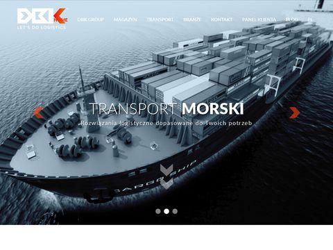 Dbklogistics.com operator logistyczny