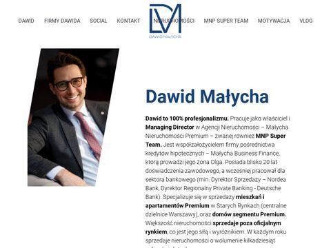 Dawidmalycha.com agent nieruchomości premium