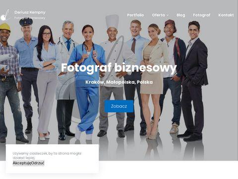 Dariuszkempny.pl sesja zdjęciowa