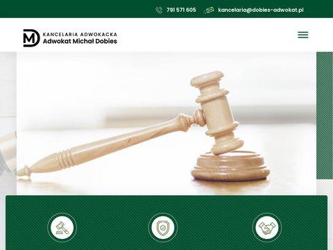 Dobies-adwokat.pl kancelaria adwokacka Warszawa