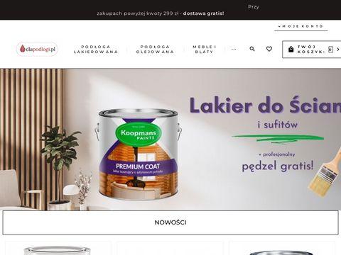 Dlapodlogi.pl sklep ze środkami do pielegnacji