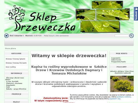 Drzeweczkaa.sklepna5.pl sadzonki drzew i krzewów