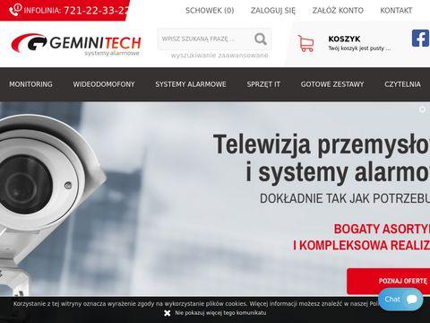 Geminitech.pl dystrybucja systemów alarmowych