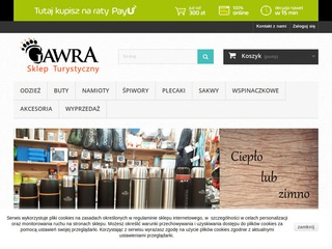 Gawra-sklep.pl odzież i akcesoria górskie