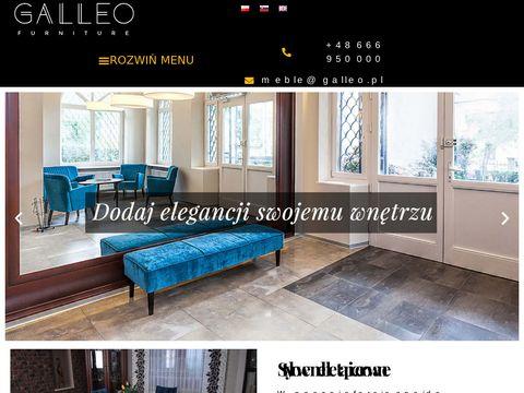 Galleo.pl meble Kalwaria glamour retro