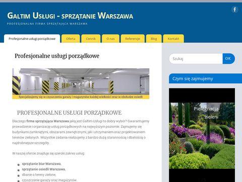 Galtim.com.pl sprzątanie klatek Warszawa