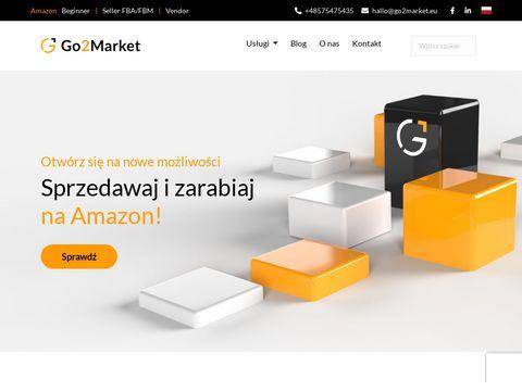 Go2market.eu obsługa reklamowa Amazon