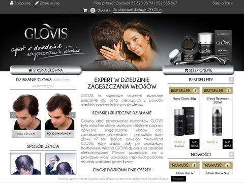 Glovis.pl kosmetyki zagęszczające włosy