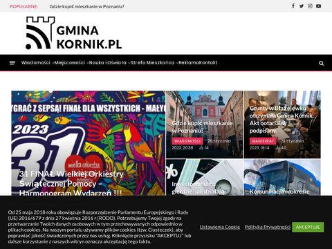 Gminakornik.pl wiadomości przetargi wydarzenia