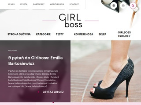 Girlboss.in prowadzenie biznesu blog