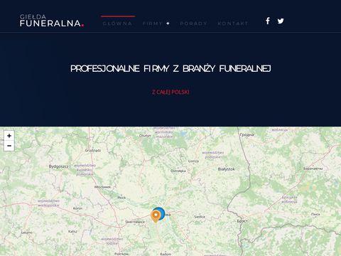 Gieldafuneralna.pl portal pogrzebowy