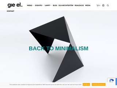 Gie-el.pl designerski sklep internetowy