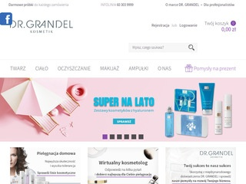 Grandel.pl profesjonalne kosmetyki
