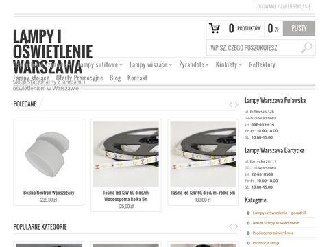 Gralux.pl lampy do łazienki