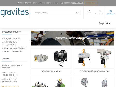 Gravitas.pl balnser linkowy Tecna sklep