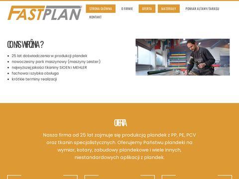 Fastplan.pl produkcja plandek
