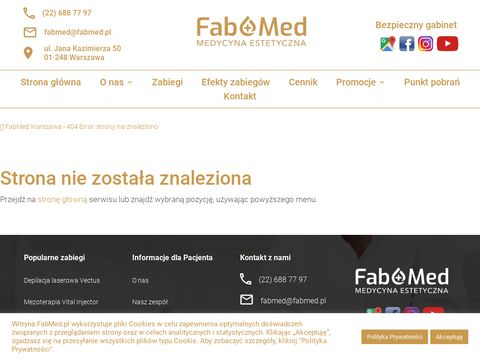 Fabmed.pl medycyna estetyczna w Warszawie