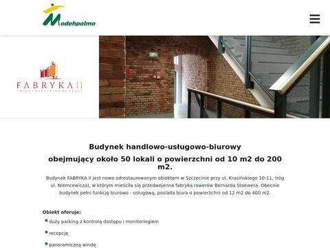 Fabryka2.modehpolmo.pl biura do wynajęcia Szczecin