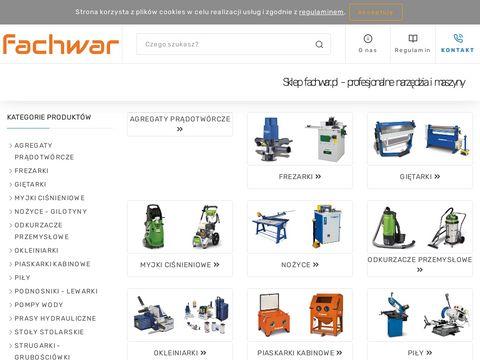 Fachwar.pl obrabiarka do drewna