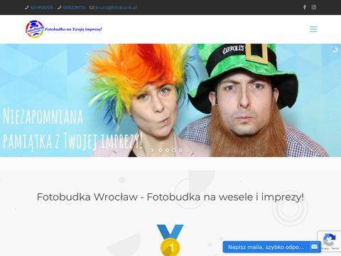 Fotoboxik.pl fotobudka Wrocław