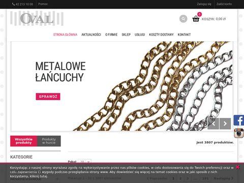 Fhoval.pl artykuły krawieckie pasmanteryjne