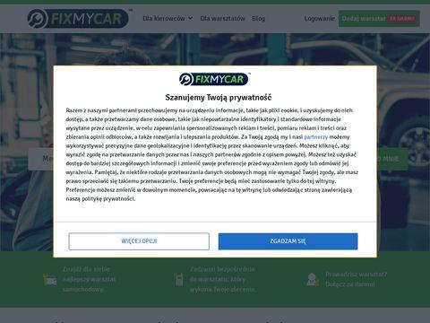 Fixmycar.pl wyszukiwarka warsztatów samochodowych