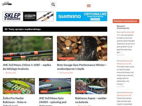 Fishing-test.pl oceny sprzętu wędkarskiego