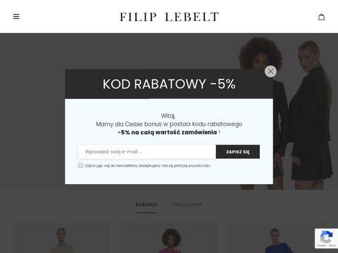 Filiplebelt.com garnitury męskie