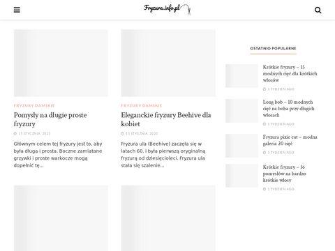 Fryzura.info.pl fryzury męskie