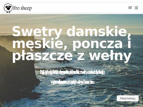 Frosheep.pl wełniane swetry