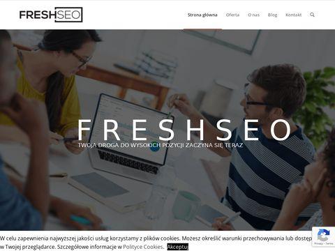 Freshseo.pl pozycjonowanie wordpress poradnik