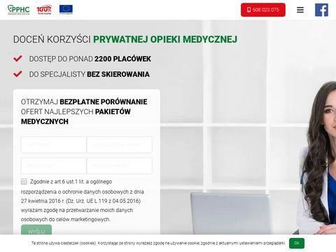 Zdrowiebezkolejki.pl pakiety medyczne