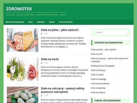 Zdrowotek.net blog o leczeniu ziołami