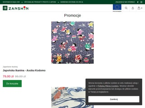 Zanshin.pl produkty z Japonii