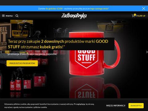 Zadbanabryka.pl kosmetyki samochodowe i akcesoria